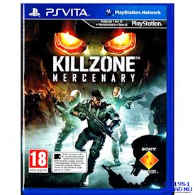 KILLZONE MERCENARY PS VITA