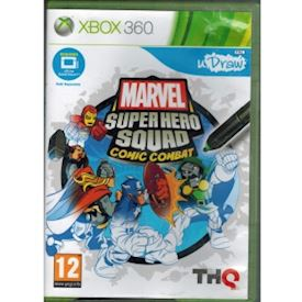 MARVEL SUPER HERO SQUAD COMIC COMBAT XBOX 360
