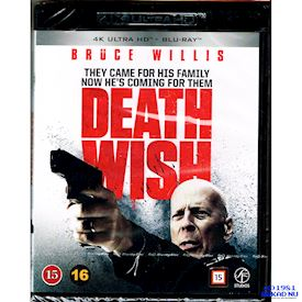 DEATH WISH 4K ULTRAHD BLU-RAY