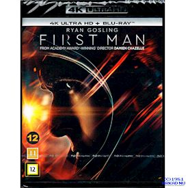 FIRST MAN 4K ULTRA HD + BLU-RAY