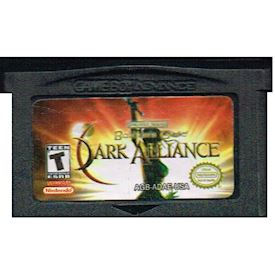 BALDURS GATE DARK ALLIANCE GBA
