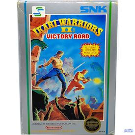 IKARI WARRIORS II VICTORY ROAD NES REV-A