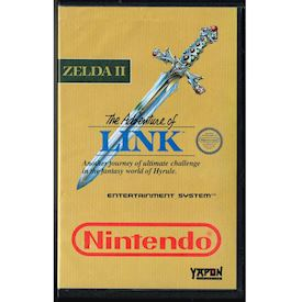ZELDA II THE ADVENTURE OF LINK NES SCN YAPON