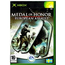 MEDAL OF HONOR EUROPEAN ASSAULT XBOX