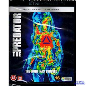 THE PREDATOR 4K ULTRA HD + BLU-RAY