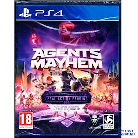 AGENTS MAYHEM DAY ONE EDITION PS4