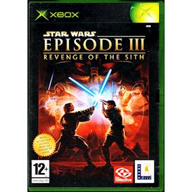 STAR WARS EPISODE III REVENGE OF THE SITH XBOX