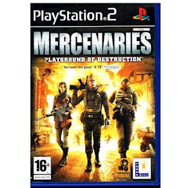 MERCENARIES PLAYGROUND OF DESTRUCTION PS2