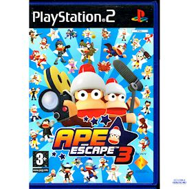 APE ESCAPE 3 PS2