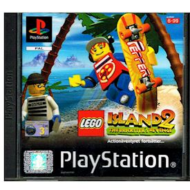 LEGO ISLAND 2 THE BRICKSTERS REVENGE PS1