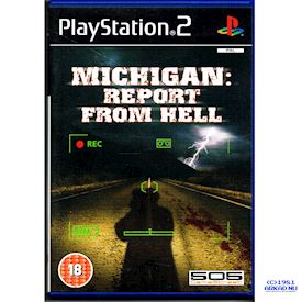 MICHIGAN REPORT FROM HELL PS2 - UK UTGÅVA SUPEROVANLIG