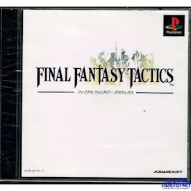 FINAL FANTASY TACTICS PS1 JAPANSK