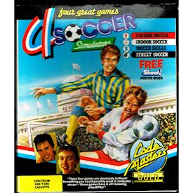 4 SOCCER SIMULATOR ZX SPECTRUM BIG BOX