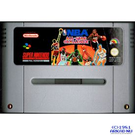 NBA ALL STAR CHALLENGE SNES