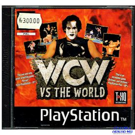 WCW VS THE WORLD PS1