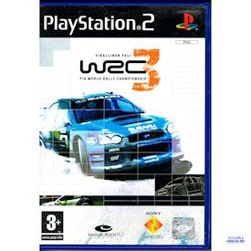 WRC 3 FIA WORLD CHAMPIONSHIP PS2