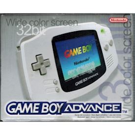 GAMEBOY ADVANCE WHITE BASENHET