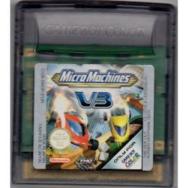MICRO MACHINES V3 GAMEBOY COLOR