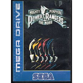 MIGHTY MORPHIN POWER RANGERS THE MOVIE MEGA DRIVE