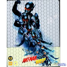 ANT-MAN AND THE WASP STEELBOOK BLU-RAY