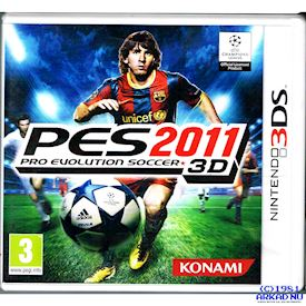 PRO EVOLUTION SOCCER PES 2011 3DS