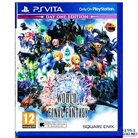 WORLD OF FINAL FANTASY DAY ONE EDITION PS VITA