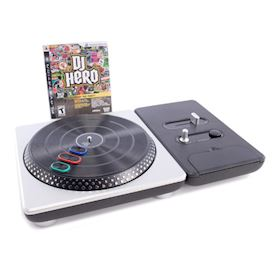 DJ HERO MED TURNTABLE PS3