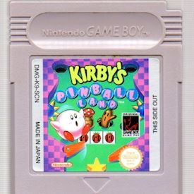 KIRBY'S PINBALL LAND GAMEBOY SCN