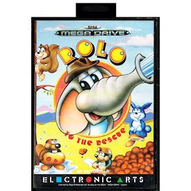 ROLO TO THE RESCUE MEGADRIVE