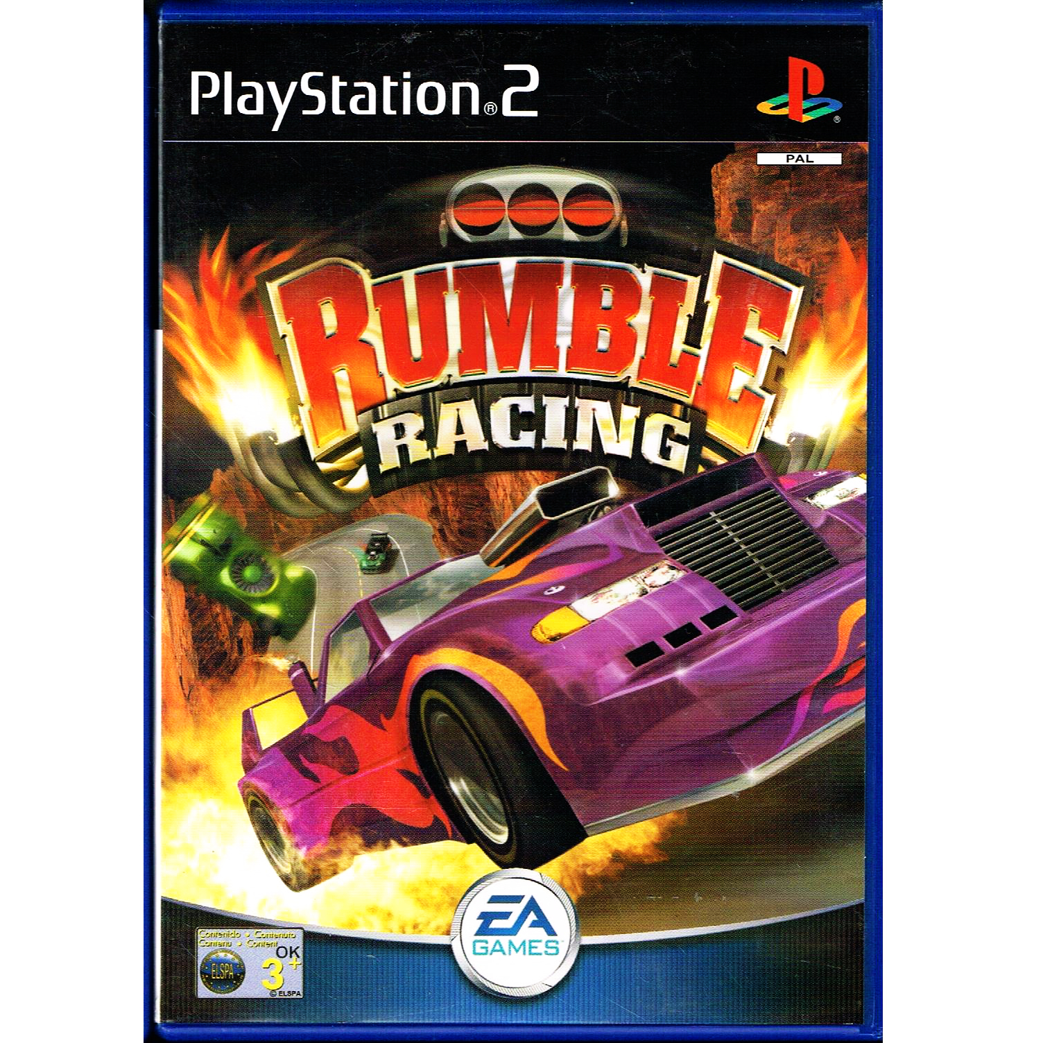rumble racing ps2