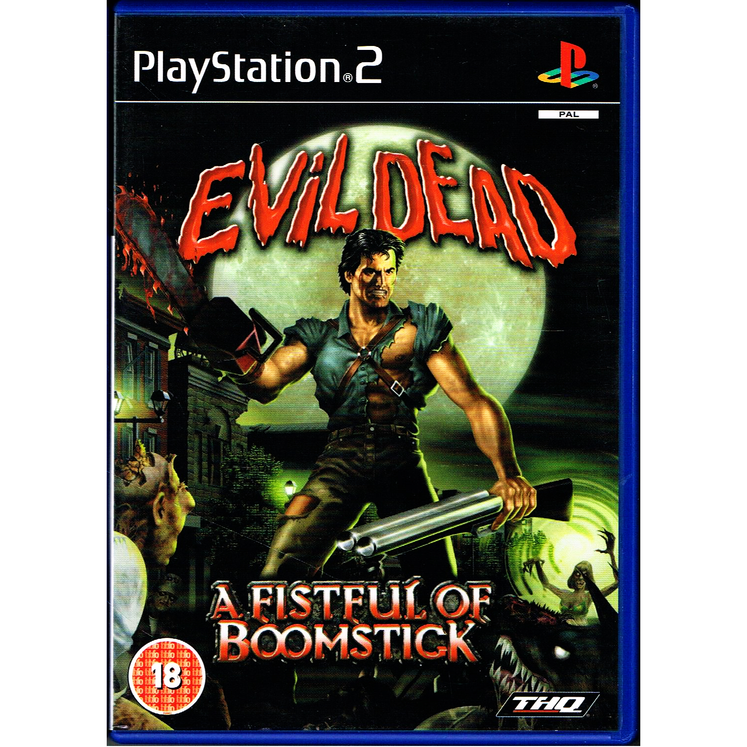 evil dead a fistful of boomstick ps2